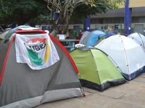 Ocupação dos estudantes contra a MP do ensino Médio em Florianópolis
