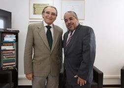 Com o deputado Fabrício